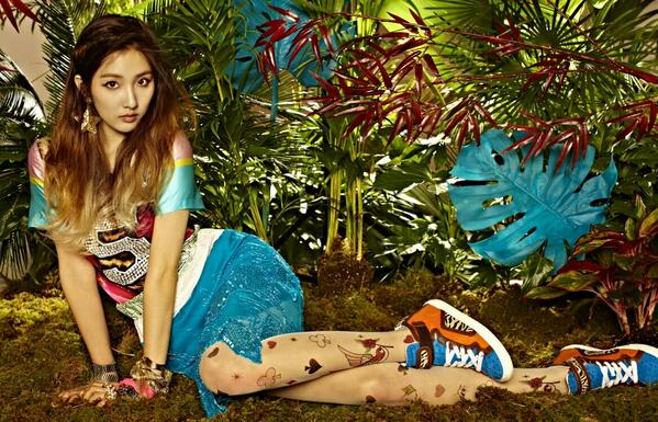 4Minute Reveals Jungle-Themed Teaser Photos