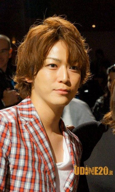 "Kazuya Kamenashi Appears At Worldwide Premiere of ""Ore Ore"" in Italy"