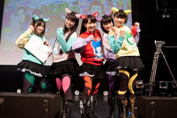 Lotte's 'Bikkuriman Chocolate' Teams Up With Momoiro Clover Z