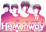 "Hemenway 4th Digital Single ""Hanafuru Yoru"" and Ustream Live Broadcast"