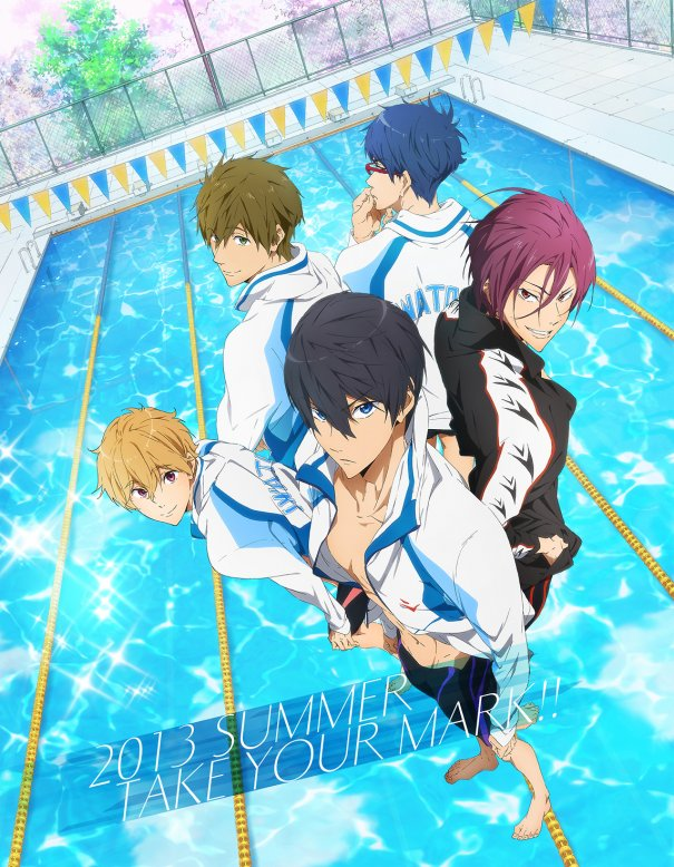 Kyoto Animation&#039;s New Anime &quot;Free!&quot; PV Release