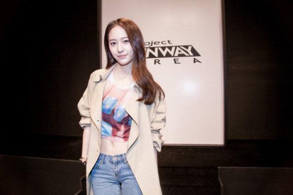 "f(x)'s Krystal Becomes Judge For ""Project Runway Korea"""