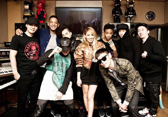 [Kpop] Will and Jaden Smith Meet the YG Family