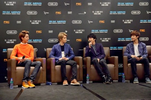 [Kpop] CNBLUE Want to be Rock Stars One Day