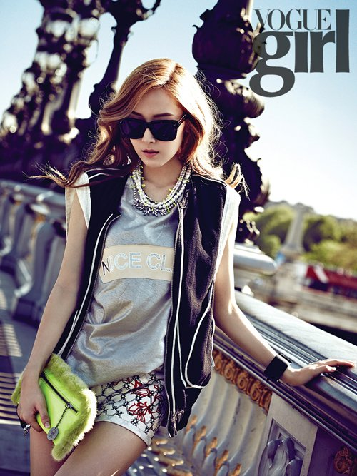 [Kpop] Girls' Generation's Jessica Poses For Vogue Girl