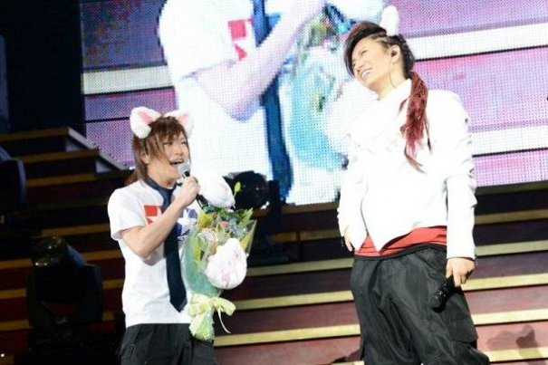 GACKT Celebrates His Birthday During Yokohama Arena Live Concert