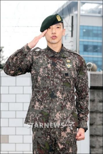 Rain Discharged From Military Services
