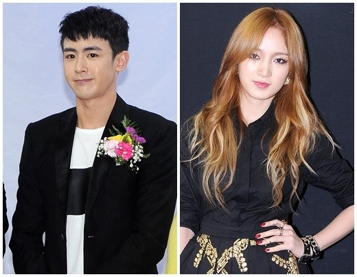 2PM's Nichkhun & Miss A's Jia Co-Star For A Chinese Drama