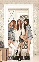 Orange Caramel Class Things Up in August Issue of Cosmopolitan