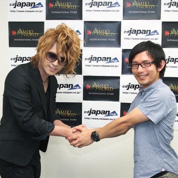 [Jrock] KAMIJO Visits CDJapan And Reveals