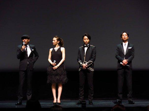 Sho Sakurai & Keiko Kitagawa Appear At Nazotoki wa Dinner no Ato de Movie Premiere in Singapore