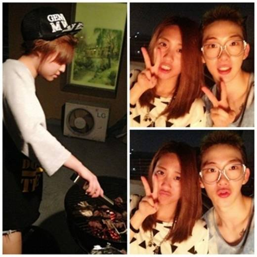 Miss A's Fei & Min and 2AM's Jo Kwon Bond On A Mini BBQ Weekend