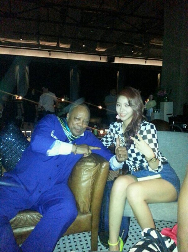 [Kpop] Ailee Meets the Legendary Quincy Jones