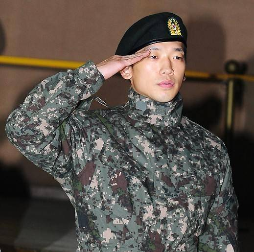 Could Rain Be Re-Enlisting Into the Military?