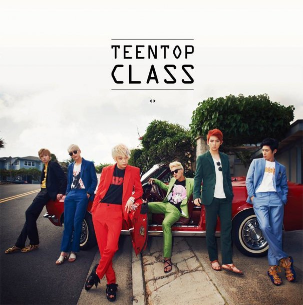 Teen Top Reveal Cover Jacket For Upcoming Mini Album
