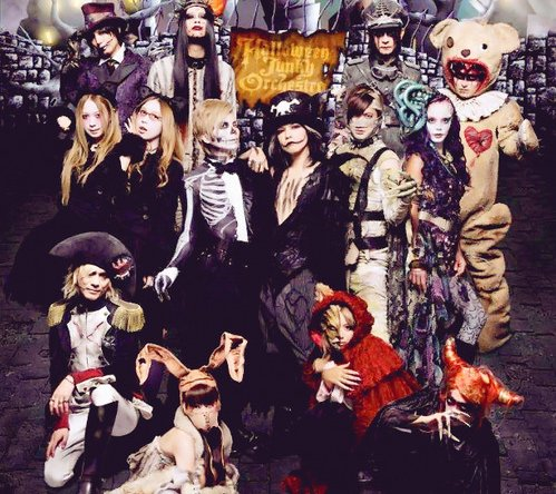 [Jpop] HALLOWEEN JUNKY ORCHESTRA new maxi single