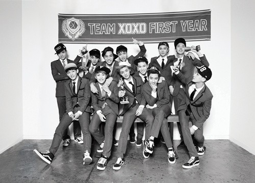 EXO's 1st Album Got Top Position Amidst Asian Album Charts And Sold with 740 000 Copies