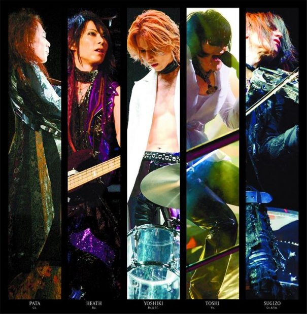 X JAPAN to Release 6 Lives on Blu-ray
