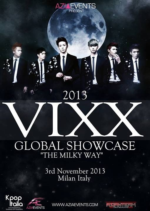 VIXX To Be The First Kpop Band To Perform In Sweden And Italy