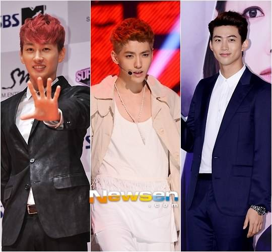 Taecyeon, Eunhyuk & Kris To Host The