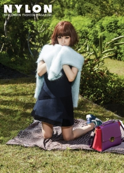 Girls' Generation's Tiffany Poses Sporty Fashion For Nylon