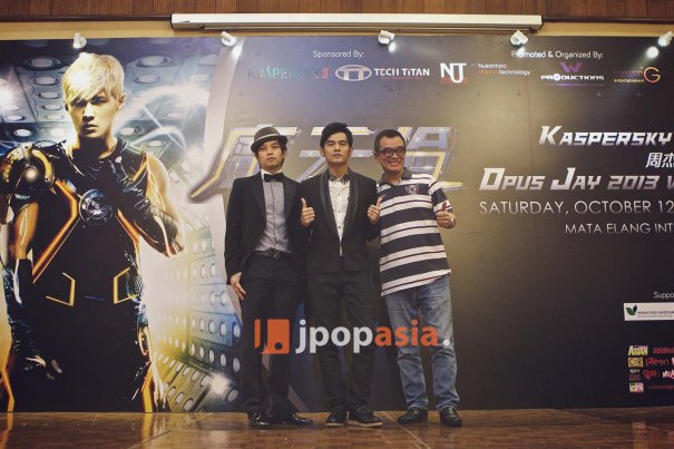 "Jay Chou Holds Press Conference for ""Opus Jay World Tour 2013"" in Jakarta"