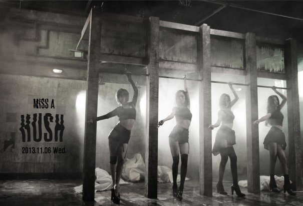 "Miss A Releases More Teasers for ""Hush"""