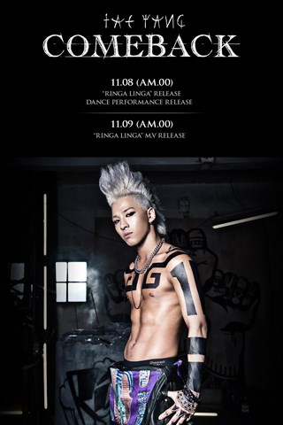 "Taeyang's New Single ""Ringa Linga"" Released"