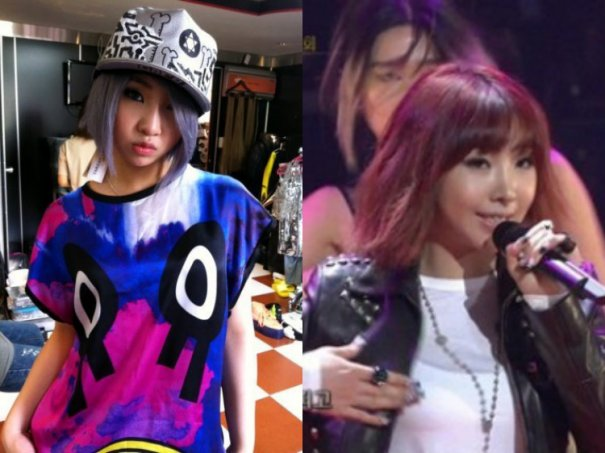 2NE1's Minzy's Suspected to Have Had Plastic Surgery