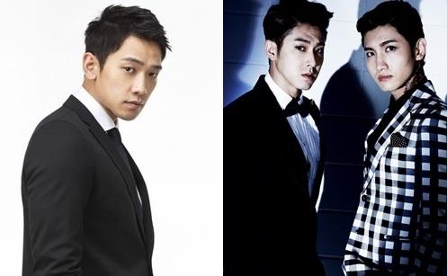 Rain and TVXQ Will Comeback in January