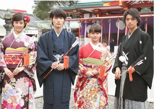 """Boku No Ita Jikan"" Starring Haruma Miura & Mikako Tabe Holds Prayer Ceremony"