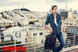 ZE:A's Hyungsik Poses In San Francisco For Calvin Klein Jeans