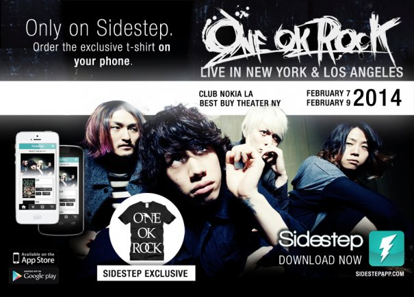 Special Offer From ONE OK ROCK For US Fans: Exclusive T-shirt With Band's Logo