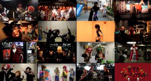 "Visual Kei Bands Perform AKB48's ""koisuru Fortune Cookie"""