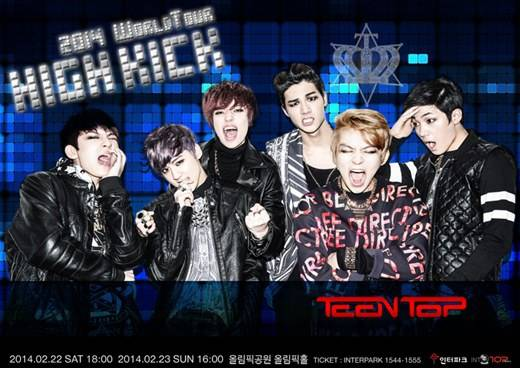 Teen Top To Livestream Their Seul Live On Theaters In Japan, Hong Kong And Taiwan
