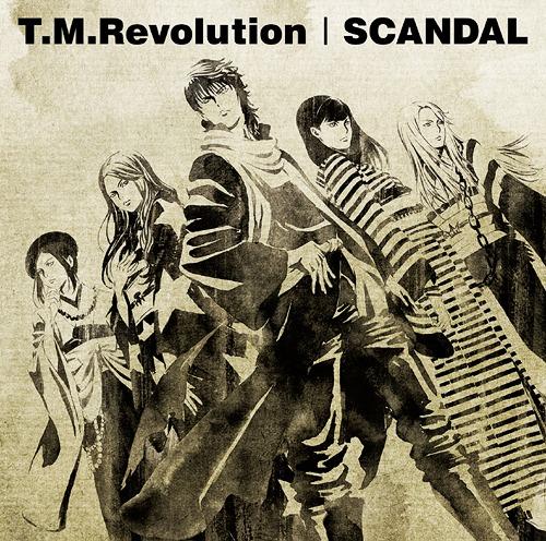 [Jpop] T.M.Revolution   SCANDAL Split Single Released