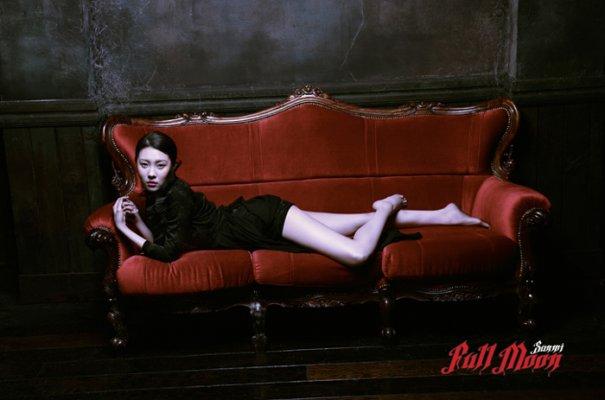 "Sunmi Releases ""Full Moon"" MV & Mini-Album"