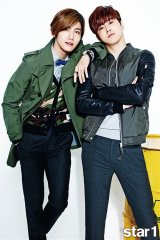 "TVXQ Transitions Into Spring Fashion In ""@STAR1"" Photo Shoot"