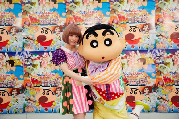 "Kyary Pamyu Pamyu To Sing Upcoming ""Crayon Shin-chan"" Film's Theme Song"