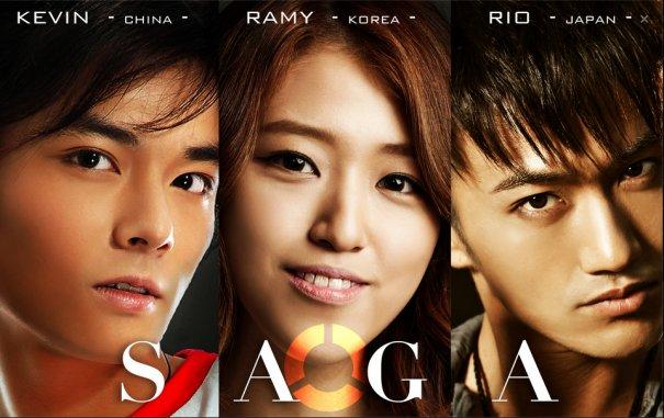 "Super Asian Pop Unit ""SAGA"" - KOREA X JAPAN X CHINA to Debut in Jakarta Indonesia"