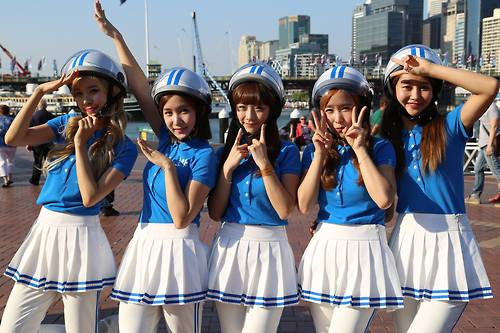 Crayon Pop Chosen As The Opening Act For Lady Gaga's US Summer Tour