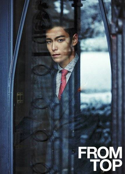 "T.O.P. Reveals Several Previews Of His Photobook ""FROM T.O.P"""
