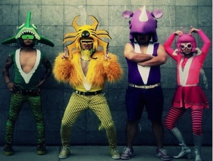 Japanese Action Comic Punk Band PEELANDER-Z Embarks on U.S. Tour 2014