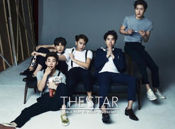 Super Junior M Poses For THE STAR Anniversary Issue