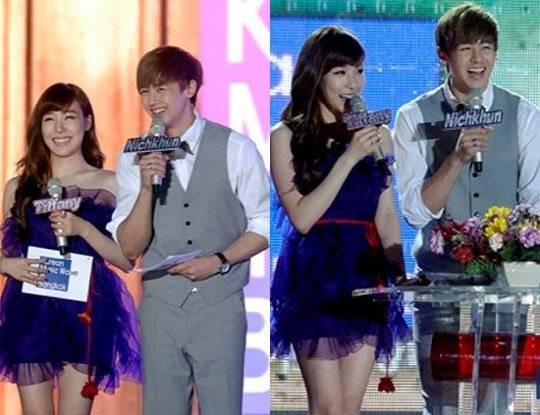 Both SME And JYPE Confirm That Girls' Generation Tiffany And 2PM's Nichkhun Are Dating