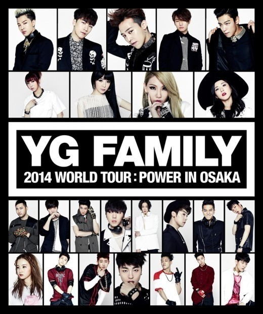 """YG FAMILY Added To Line-Up Team B From """"WIN"""" To Next YG Concert In Japan"""