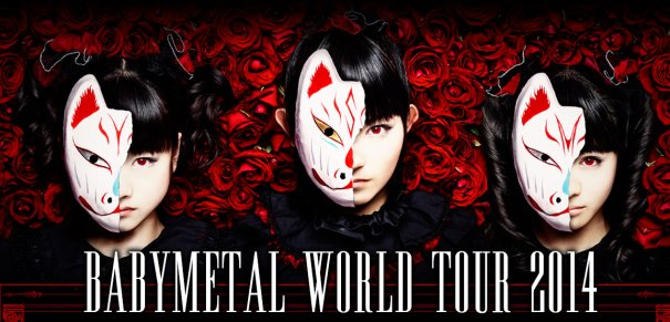 Gear Up for the Mosh'sh Pit, BABYMETAL World Tour 2014 is Here