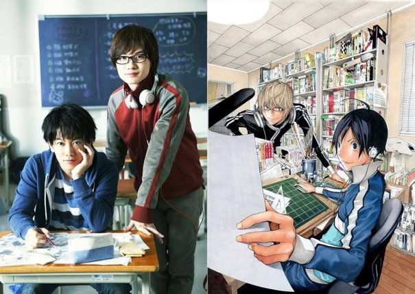"""Bakuman"" Gets A Live Action, Takeru Sato To Star"
