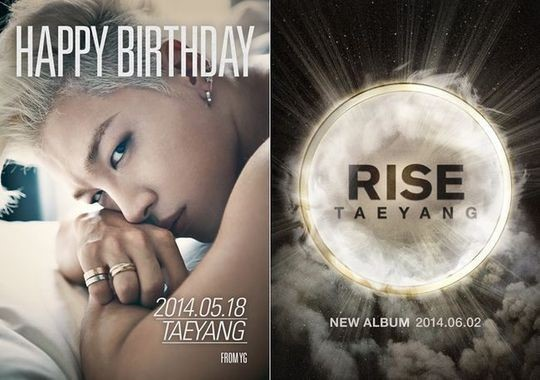 "BIGBANG's Taeyang Announces Comeback With New Album ""RISE"" On His Birthday"