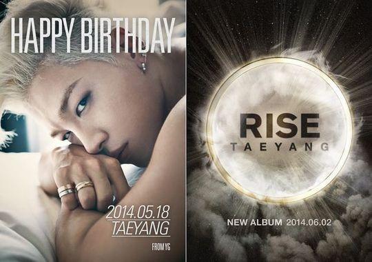 "[Kpop] BIGBANG's Taeyang Announces Comeback With New Album ""RISE"" On His Birthday"